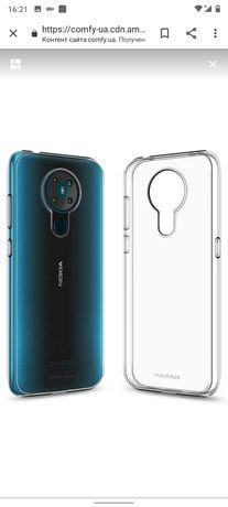 Силиконовый чехол Makefuture для  Nokia 5.3