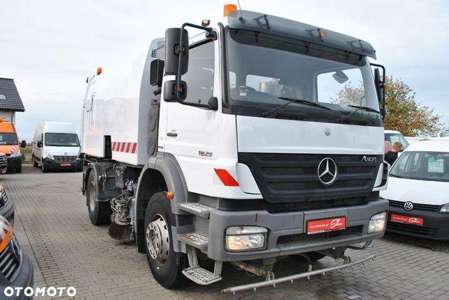 Mercedes-Benz Axor 1829 Zamiatarka  Brock SL280 Polewaczka Kamera Karcher Rura Do Liści 2 Silniki