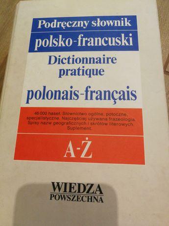 Podręczny słownik polsko-francuski A-Ż 46000 haseł