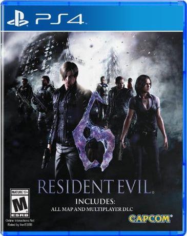 Gra Resident Evil 6 PS4