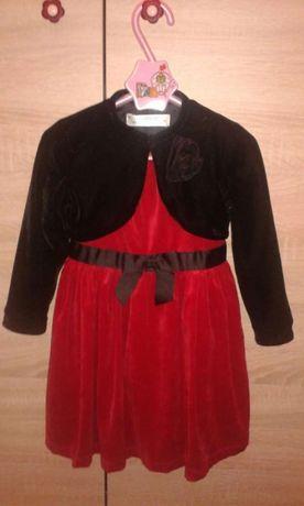 Sukienka z bolerkiem rozmiar 104