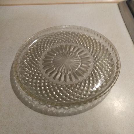 Блюдо стекло времён СССР