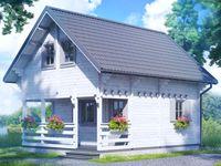 Domek 7x5 domki letniskowe 7x5 domki piętrowe 7x5 domek 35m2 WD7