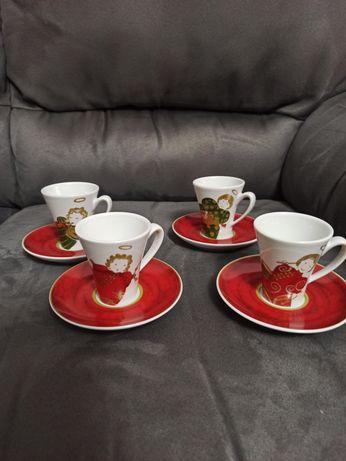 Conjunto 4 chávenas café Spal