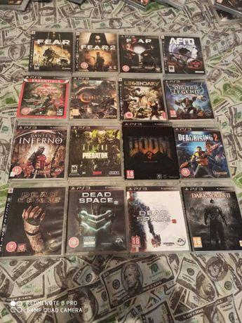 Диск Sony Ps3(Skyrim.Doom.Resident.Killzone.Assasins.Alliens.Gta.Fifa)