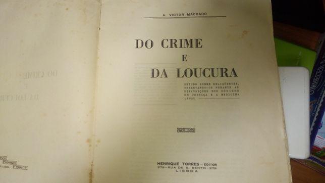 Livro Do crime e da loucura
