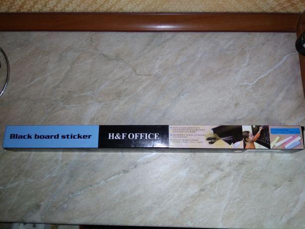 Черная доска стикер для дома, офиса