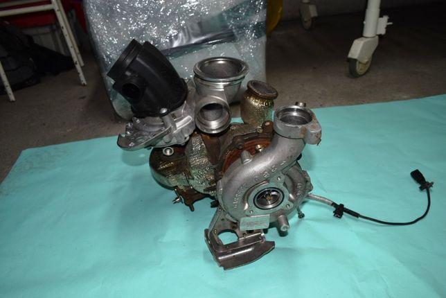 Turbosprężarka Turbina BiTurbo Audi A7 A6 Q5 3.0 TDI 326 km CVUB MŁAWA