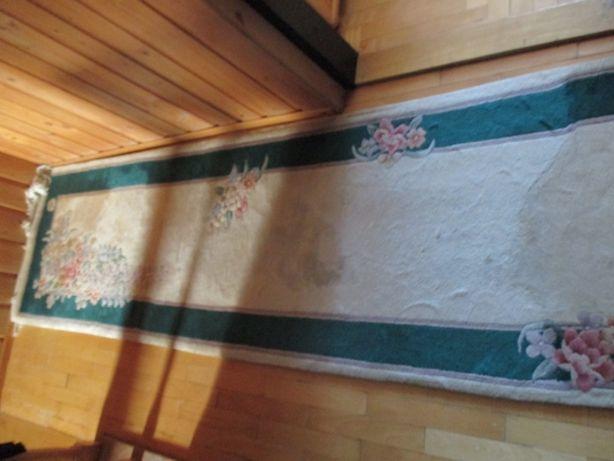 chodnik wełniany 431 cm x77 cm