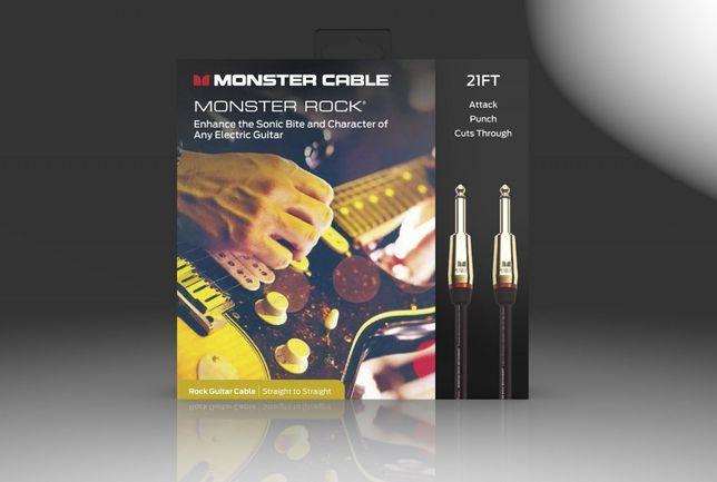 Kabel Instrumentalny Monster Prolink Rock Jack/Jack 6,4m