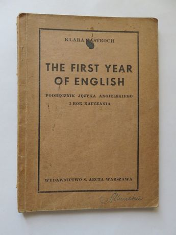 Jastroch. The First Year of English. (1947 r.)