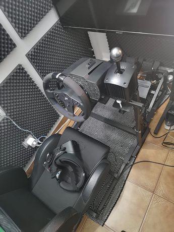 Setup completo + simracing fanatec