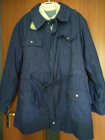 Nowe ubranie robocze PRL vintage z ocieplane