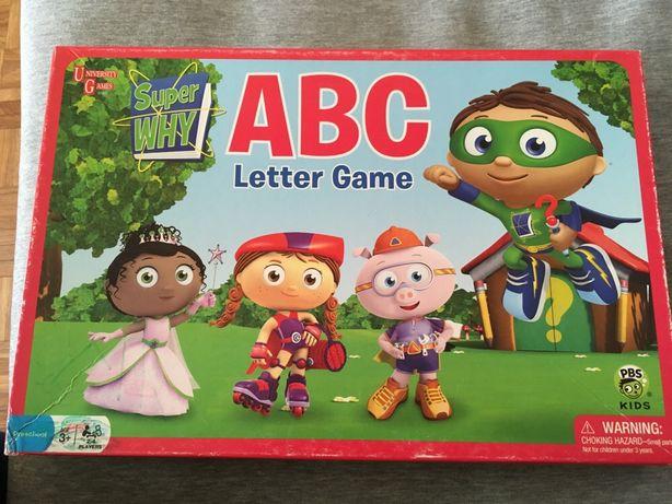 Продам детскую настольную игру ABC Letter Game