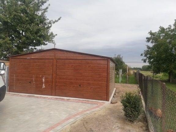 Garaże, garaż blaszany na wymiar krótkie teminy montaż Gratis