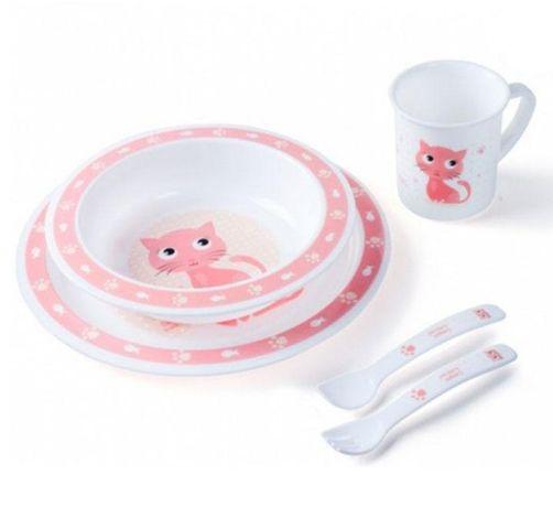 Набір посуду Canpol babies пластик. 5 елементів, 12М+ (арт.4/401)
