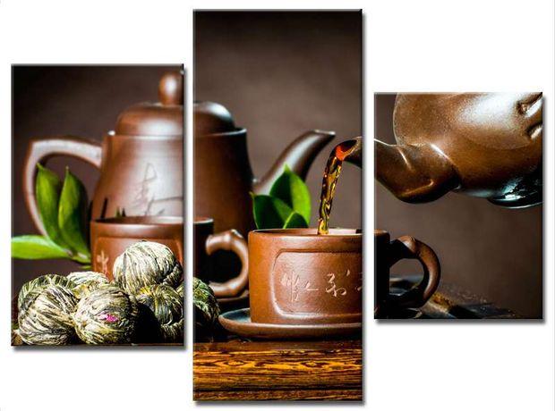 Модульная картина ЧАЙНАЯ ЦЕРЕМОНИЯ чай
