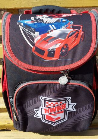 Рюкзак, ранец ортопедический Hot Wheels 11л, Kite