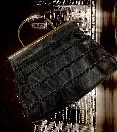 Сумка сумочка Dents 1777 вечерняя клатч прозрачная бисер