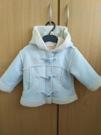 Куртка дублянка на 1-1,5 роки