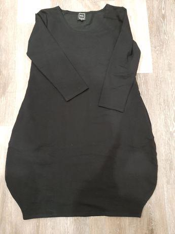 Sukienka bombka dresówka czarna Numinou 38