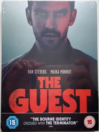 """Gość"" / ""The Guest"" STEELBOOK Blu-Ray UK bez PL"