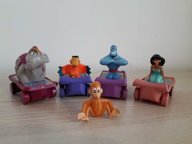 Aladyn figurki zestaw Mcdonald's 2004 i 1996 rok