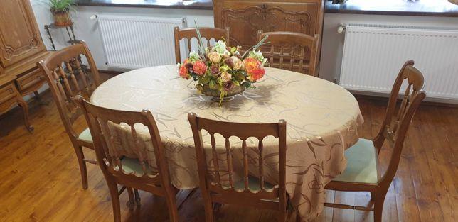 Stół plus 6 krzeseł