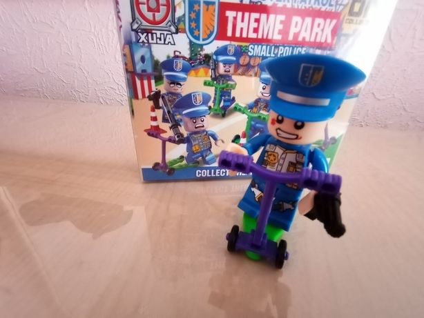 Детский игрушечный полицейский майкрафт лего, Новое Цена 30гр