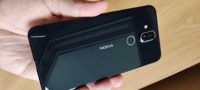 NOKIA 8.1 (X7) + bateria + ładowarka - stan igła!