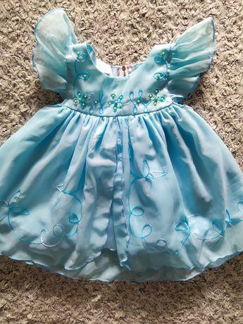 Śliczna sukienka na wesele święta 74