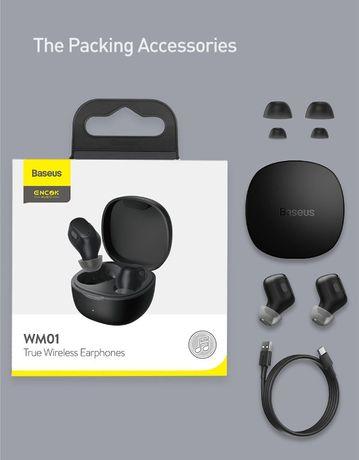 BASEUS Encok WM01 беспроводные TWS Bluetooth 5.0 наушники гарнитура