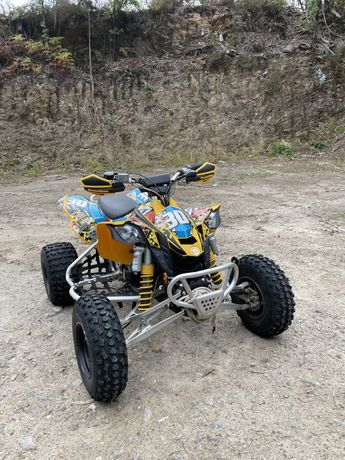 Can am bombardier DS 450 (aceito trocas)
