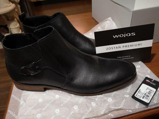 NOWE skórzane buty firmy Wojas