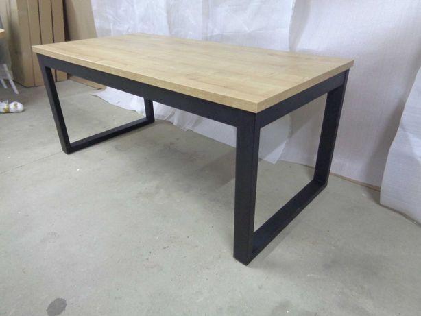 Stół Rozkładany LOFT industrialny 150-250x90 (2x50 Dostawki) EGGER