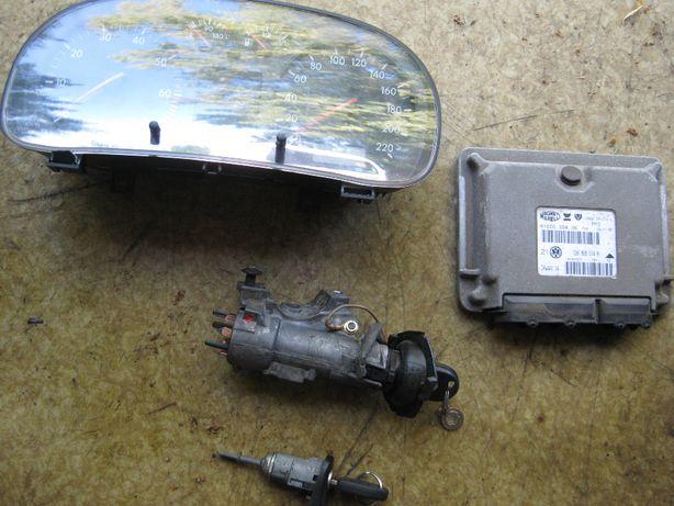 stacyjka z kluczykiem VW GOLF 4 - 1.4 - 16V