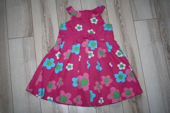 Sukienka letnia w rozm. 74.
