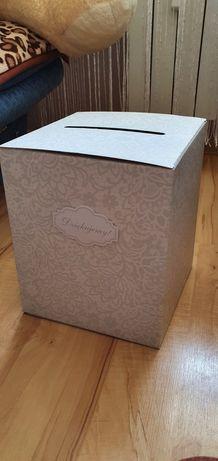 Weselne pudełko na koperty
