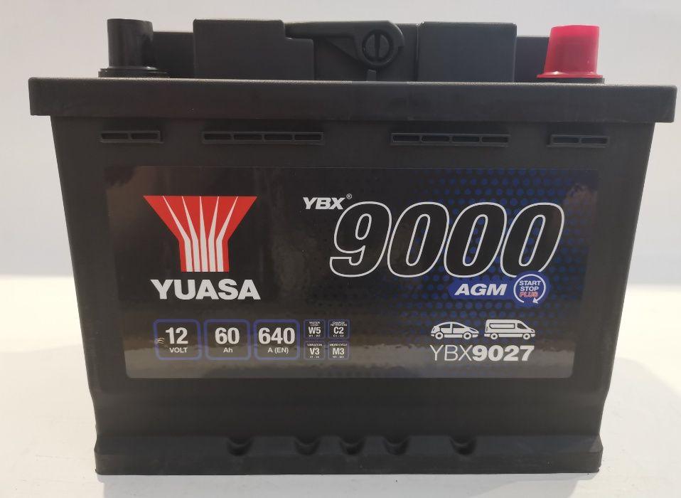 Akumulator YUASA YBX9027 Start Stop 60Ah 640A Promocja!!!