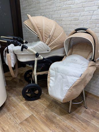 Срочно! Zipy Verdi коляска детская, 2 в 1. унисекс