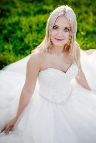 suknia ślubna - księżniczka Mori Lee 5216