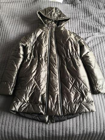 Zimowa kurtka ciążowa Happymum Cortina khaki jacket rozm. M