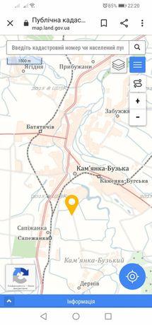 Земельна ділянка Кам'янка - Бузька