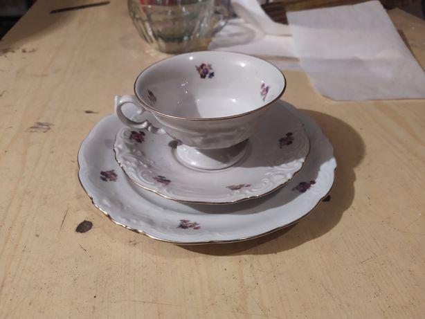 Filiżanka zestaw kawowy