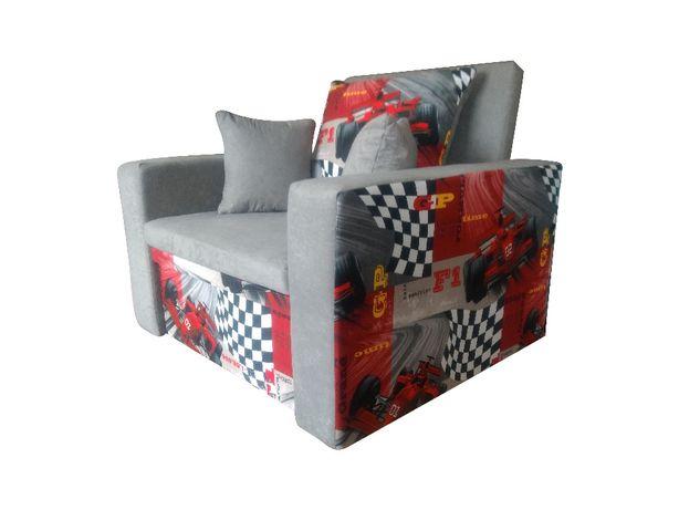 fotel rozkładany amerykanka łóżko dla dzieci sofa kanapa / DOSTAWA 0ZŁ