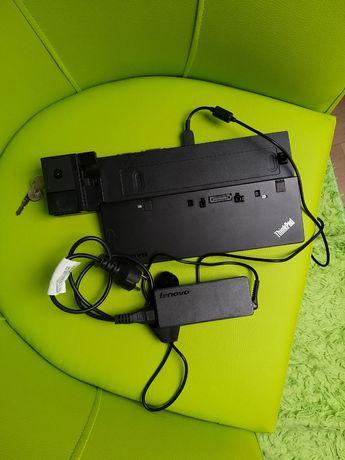 Stacja dokująca Lenovo T550 ThinkPad Klucz zasilacz ładowarka