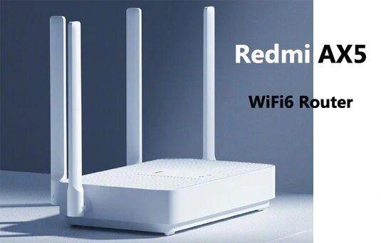 Новый Xiaomi Redmi AX5 Mesh WiFi 6 802.11ax