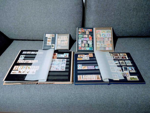 Kolekcja znaczków znaczki pocztowe