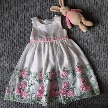 Нарядное платье на девочку 4 лет белое american princess