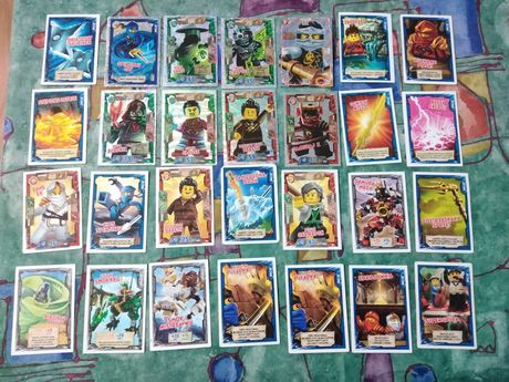 Karty Lego Ninjago plus komiksy